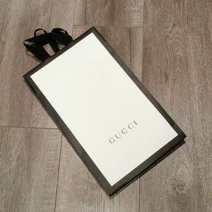 Gucci Paper Shopping Bag